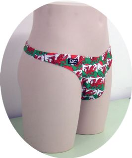 Welsh Dragon Swim Thong
